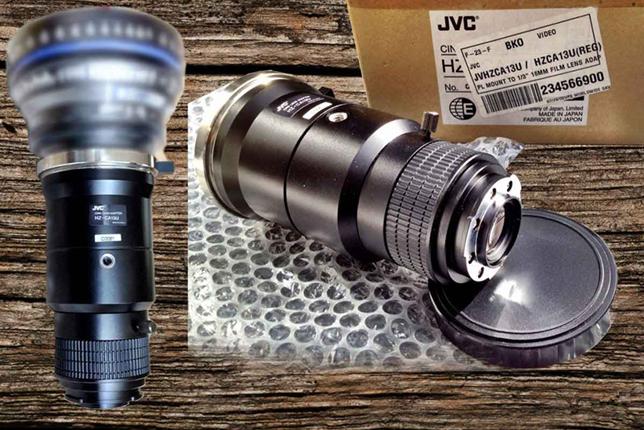 Te Koop JVC HZ-CA13U FILM LENS ADAPTER 16MM/35MM
